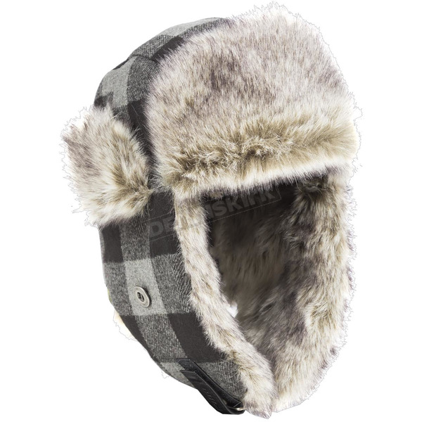 Klim Gray/Black Muffler Hat - 5007-000-140-600