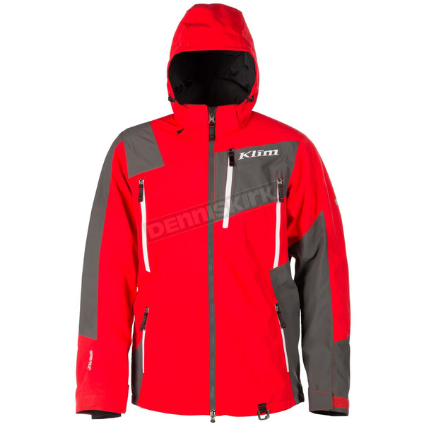 Klim Red/Gray Storm Jacket - 5045-003-140-100