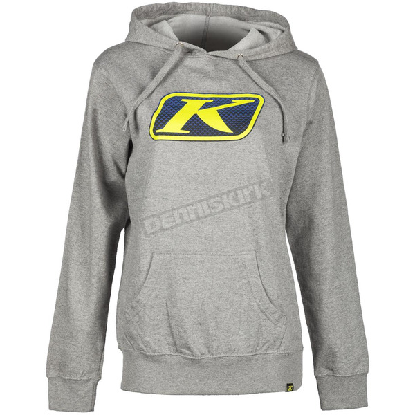 Klim Women's Light Gray Vista Hoody - 6022-005-140-630