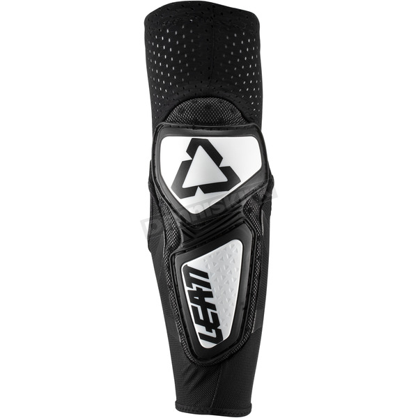 Leatt White/Black Contour Elbow Guards - 5019200141