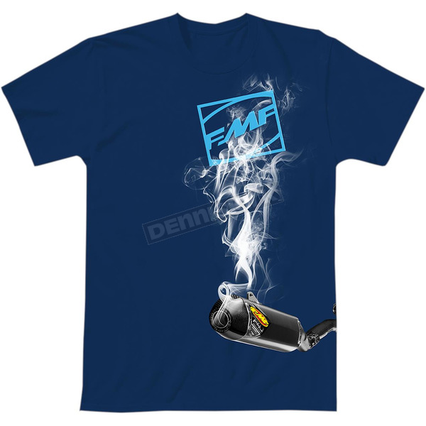 FMF Blue Boxcage 2 T-Shirt - SP9118996BLUL