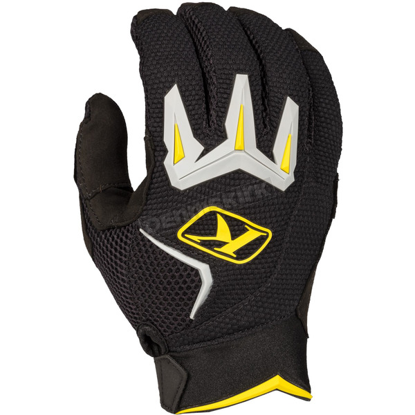Klim Black Mojave Gloves - 3168-003-170-000