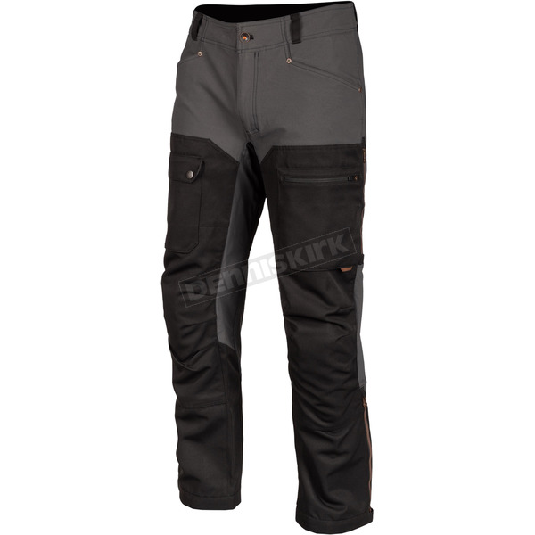 Gray Switchback Cargo Pants