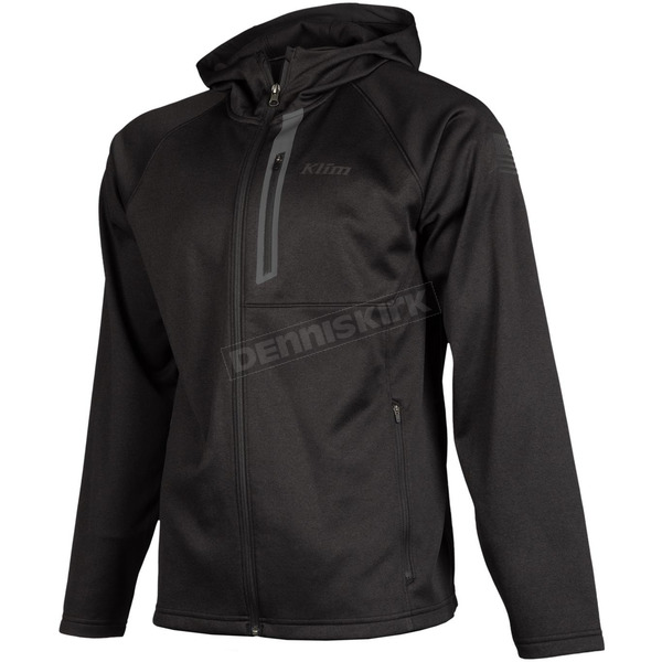 Klim Black Stealth Alpha Zip Hoody - 6042-001-130-000