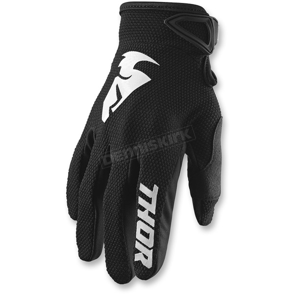 Youth Black Sector Gloves