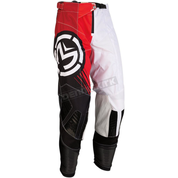 Black/Red M1 Pants