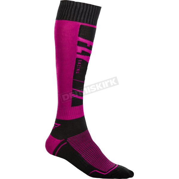 Blue/Purple Thin MX Socks - 350-0475S