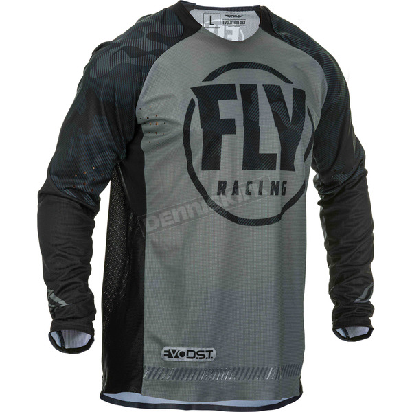 Black/Grey Evolution DST Jersey