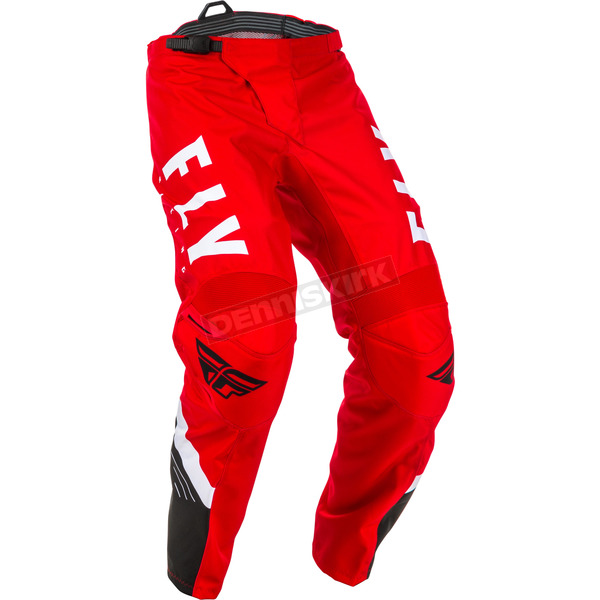 Youth Red/Black/White  F-16 Pants - 373-93318