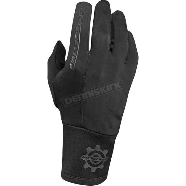 Black Tech Glove Liners - 1002-0118-0154