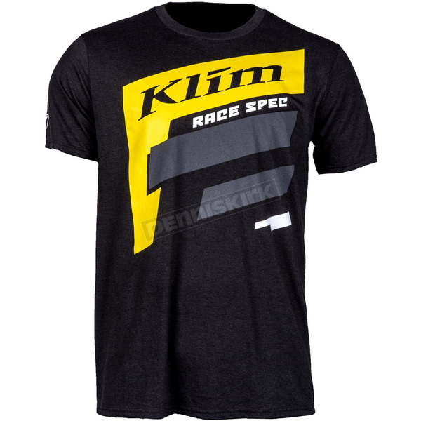 Non-Current Black/Yellow Spec SS T-Shirt