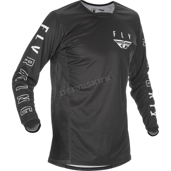 Black/White Kinetic K121 Jersey
