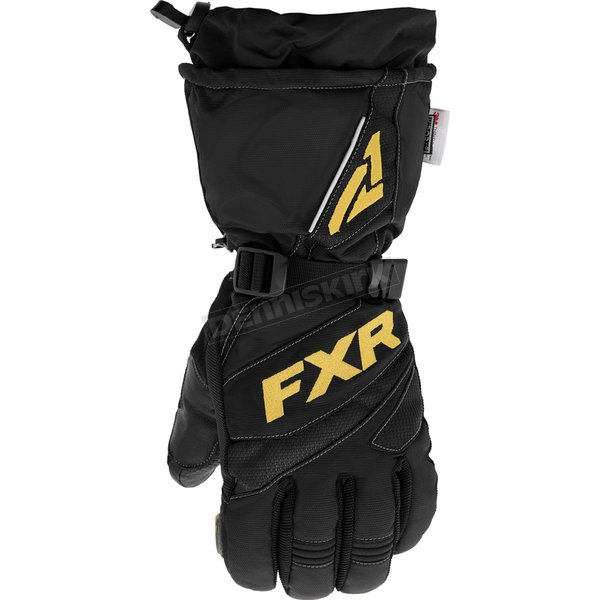 Black/Gold Fuel Gloves