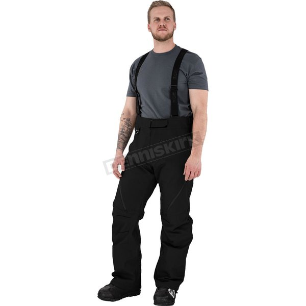 Black Vertical Pro Insulated Softshell Pants - 210914-1000-13
