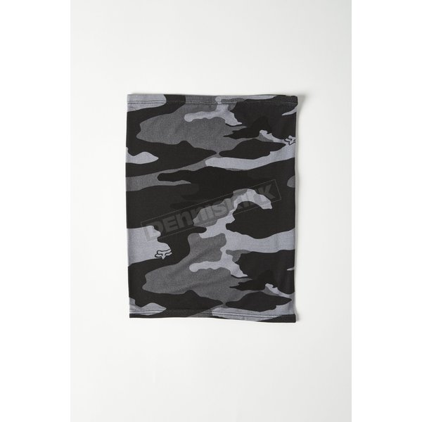 Youth Black Camo Neck Gaiter - 28771-247-OS