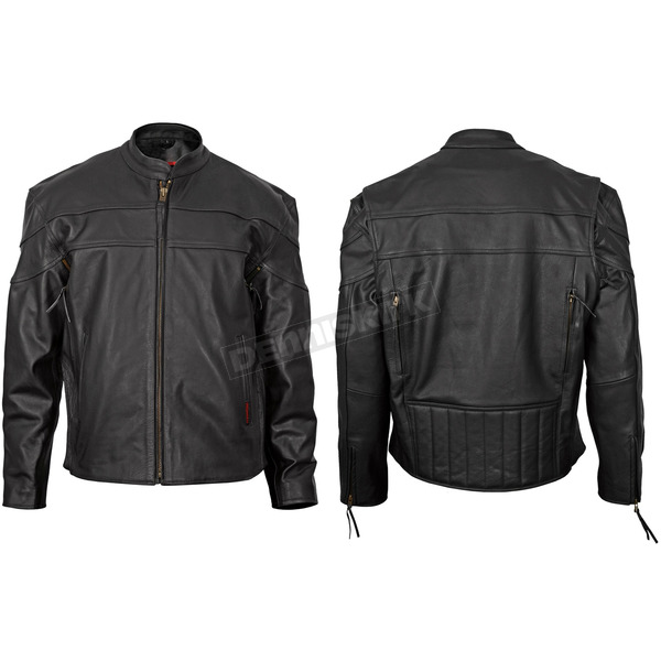 Milwaukee Motorcycle Clothing Co. Maverick Leather Jacket - M10064XXL