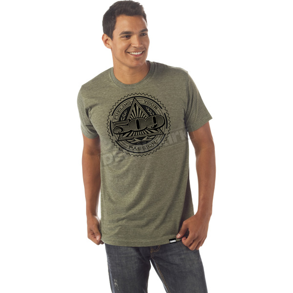509 Army Heather Cash T-Shirt - 509-CLO-CAT-SM