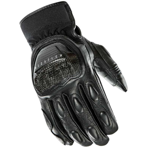 Joe Rocket Black Speedway Leather Gloves - 1334-1003