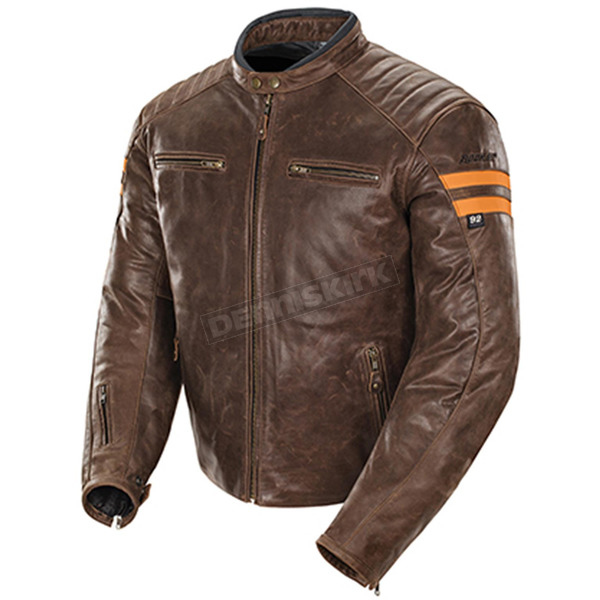 Joe Rocket Brown/Orange Classic '92 Jacket - 1326-2703