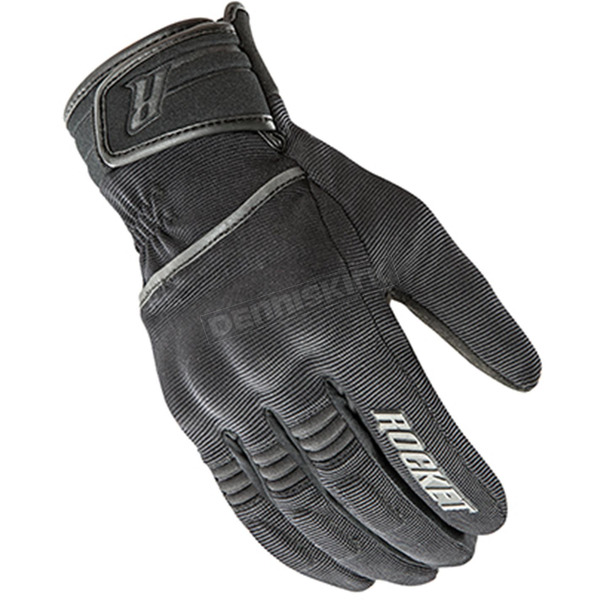 Joe Rocket Black Resistor Gloves - 1555-1004