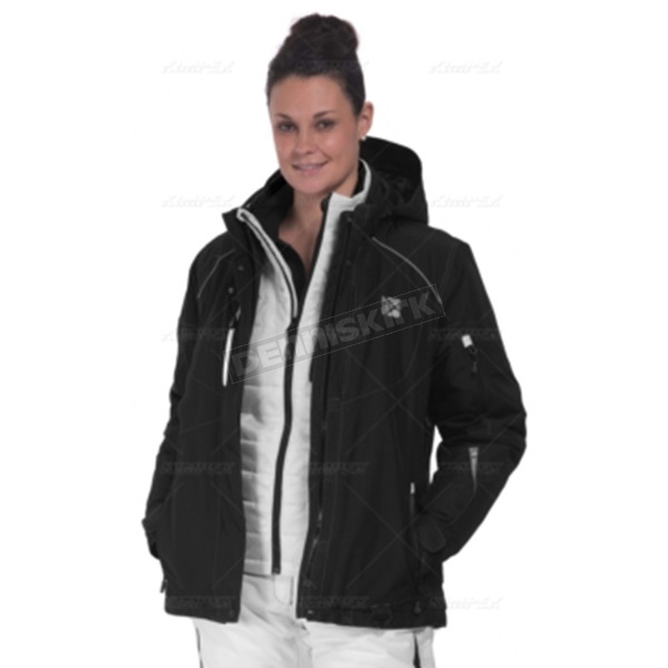 CKX Women's Black/Gray Zenith Jacket - 601441