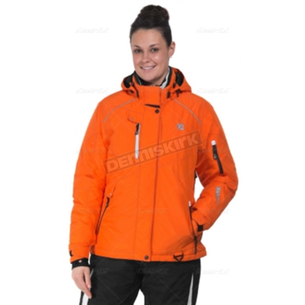 CKX Women's Orange/Gray Zenith Jacket - 601474