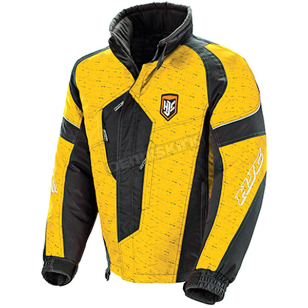 HJC Yellow/Black Storm Jacket - 1501-032