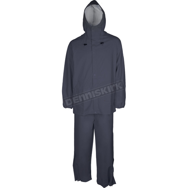 Mossi Navy Blue SX PVC Rain Suit - 51-200NB-XL