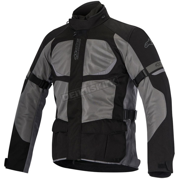 Alpinestars Black/Gray Santa Fe Air Drystar Jacket - 3206416-111-3XL