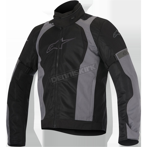 Alpinestars Black/Gray Amok Air Drystar Jacket - 3207716-111-L