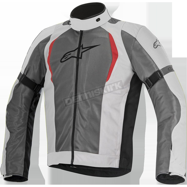 Alpinestars Light Gray/Dark Gray Amok Air Drystar Jacket - 3207716-922-S