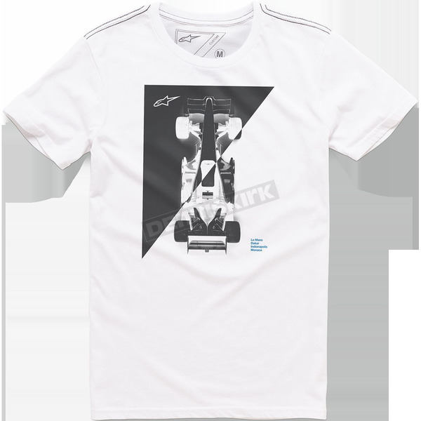 Alpinestars White Vertices T-Shirt - 101673017020S