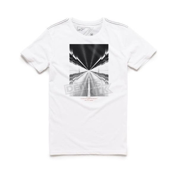 Alpinestars White Rush T-Shirt - 101673013020M