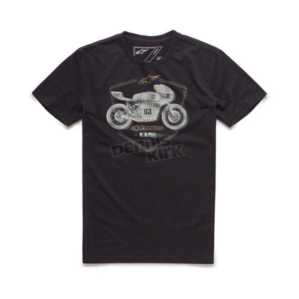 Alpinestars Black Etch T-Shirt - 10167300210L