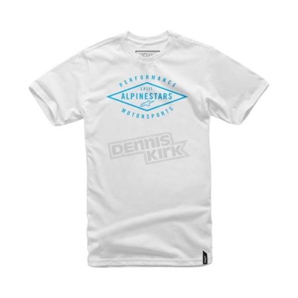 Alpinestars White Expedition T-Shirt - 101672006020S
