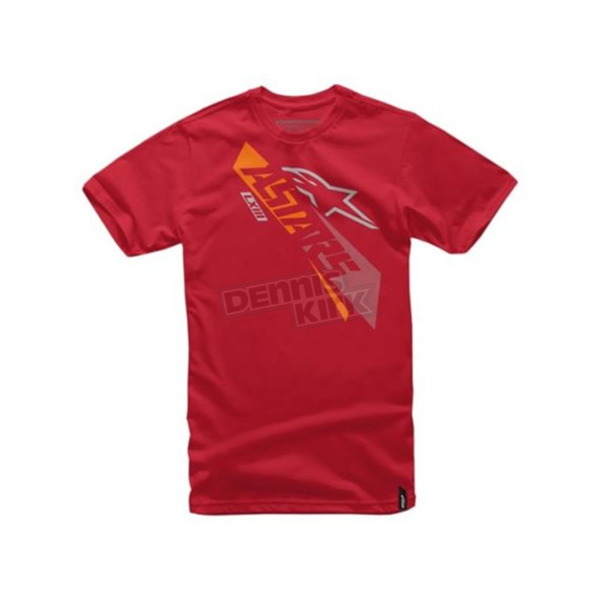 Alpinestars Red Precise T-Shirt - 101672013030M