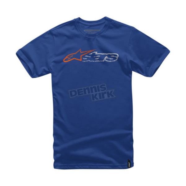 Alpinestars Blue Harsh T-Shirt - 10167202479XL
