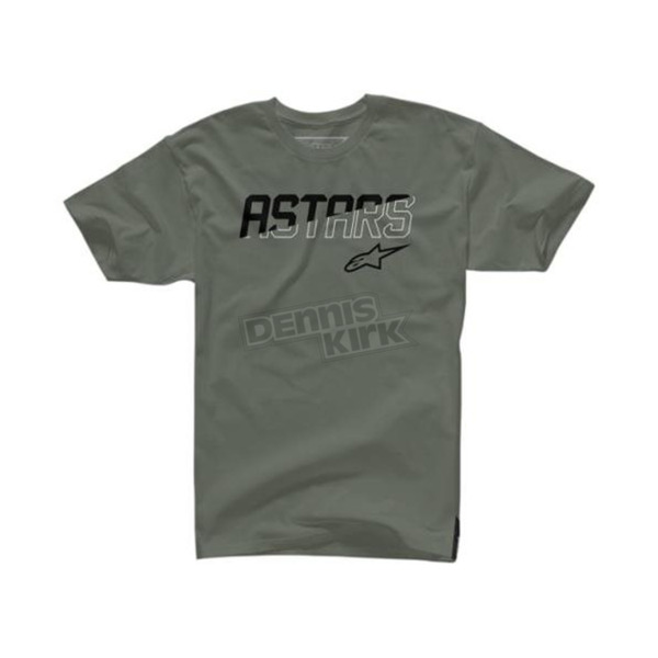 Alpinestars Army Green Slice T-Shirt - 104572054690S