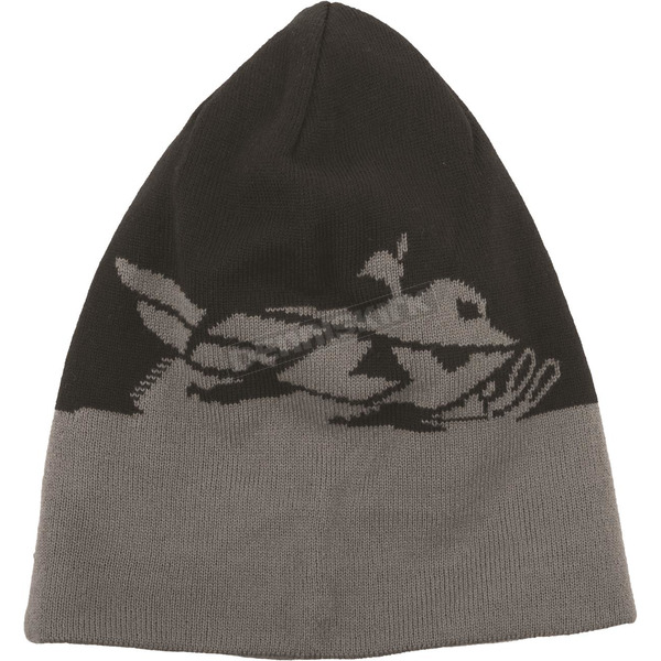 Fly Racing Black/Gray Snow Beanie - 351-0510