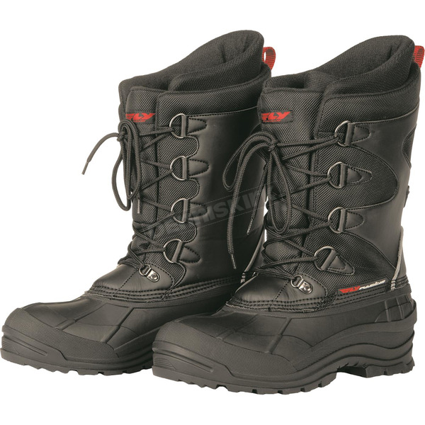 Fly Racing Black Unisex Aurora Boots - 361-96007