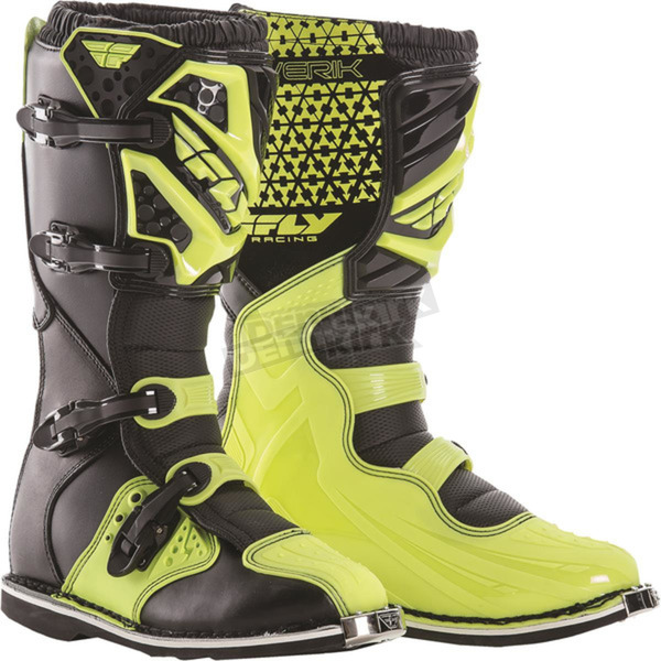Fly Racing Hi-Vis Maverik Boots - 364-56813