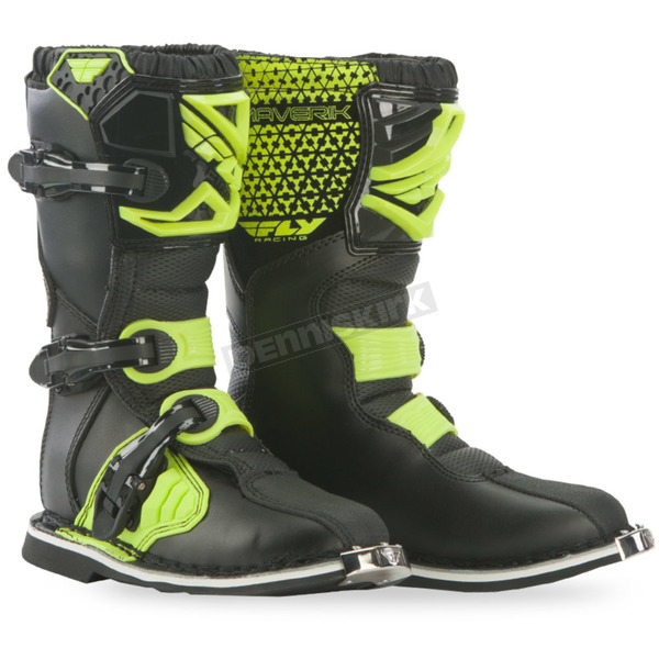 Fly Racing Youth Hi-Vis Maverik Boots - 364-56805