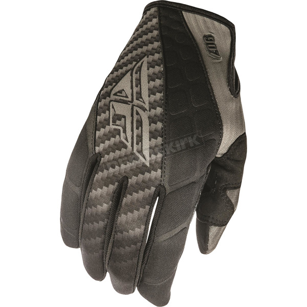 Fly Racing Black/Gray 907 MX Cold Weather Gloves - 369-64011