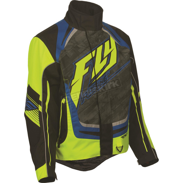 Fly Racing Black/Hi-Vis SNX Pro 2016 Jacket - 470-3188L