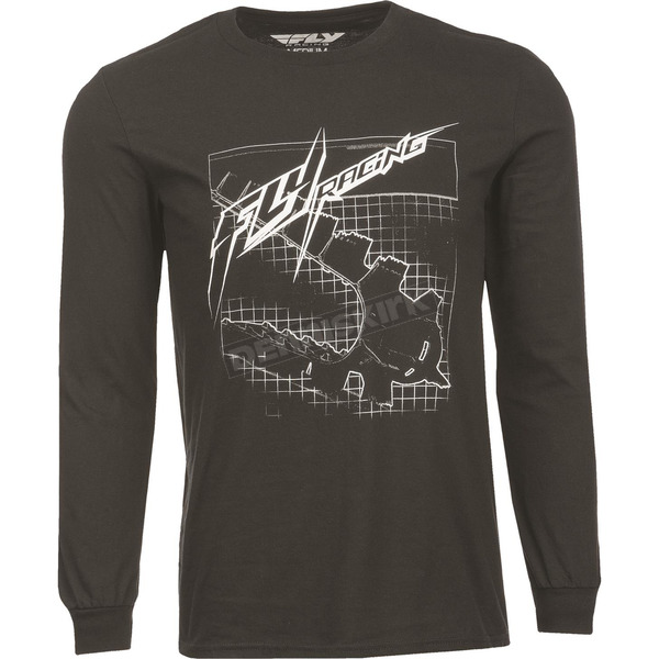 Fly Racing Black Fly Focus Long Sleeve Shirt - 352-0710M