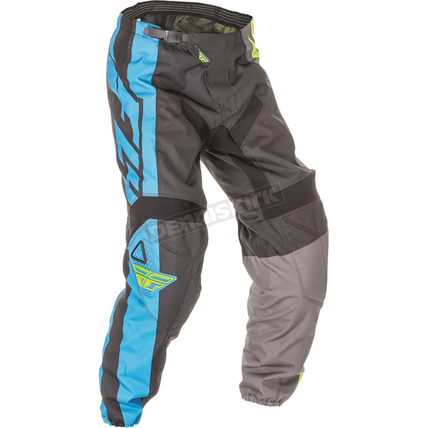 Fly Racing Blue/Hi-Vis F-16 Pants - 369-93830