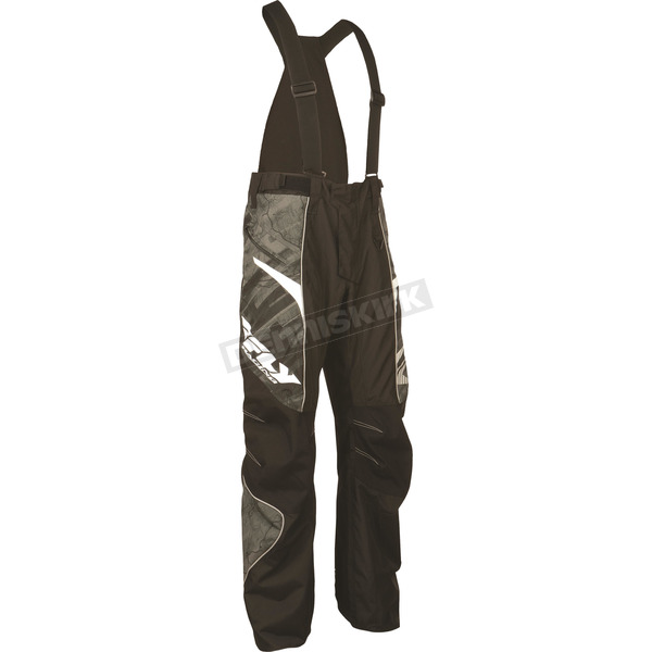 Fly Racing Black SNX Pro Insulated Pants - 470-2020L