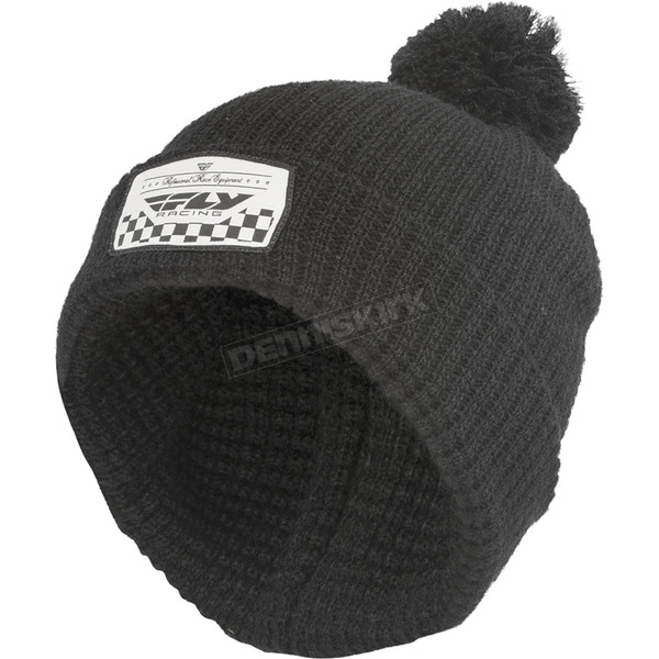 Fly Racing Black Drift Beanie - 351-0530