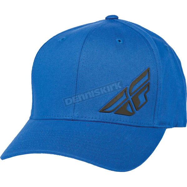 Fly Racing Blue F-Wing FlexFit Hat - 351-0391S