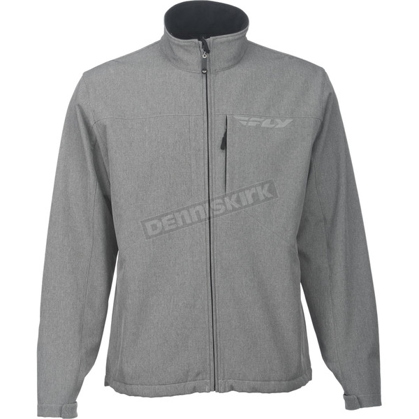 Fly Racing Gray Black Ops Jacket - 354-6206M